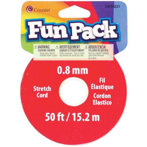 Bobine de Cordon Extensible Fun Pack ? Mètres/Pkg-? Couleur