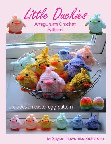 Little Duckies Amigurumi Crochet Pattern (Easy Crochet Doll Patterns Book 9) (English Edition)