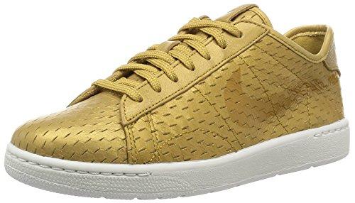 Nike Donna W Tennis Classic Ultra Prm scarpe sportive, Or - Dorado (Metallic Gold / Flt Gold), 36 1/2