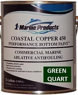 Coastal Copper 450 Ablative Antifouling Bottom Paint GREEN QUART