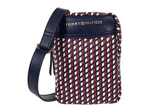 Tommy Hilfiger Monogram II - Phone Crossbody - Angled Flag Navy/Red/White One Size