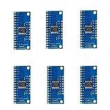 Ximimark 6Pcs 16CH Analog Digital Multiplexer Breakout Board Module CD74HC4067 CMOS Precise Module For Arduino