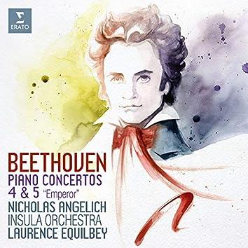 """Beethoven: Piano Concertos Nos 4 & 5, """"Emperor"""" (Live)"""