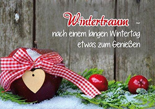 Sueño de invierno: después de un largo día de invierno algo para disfrutar.
