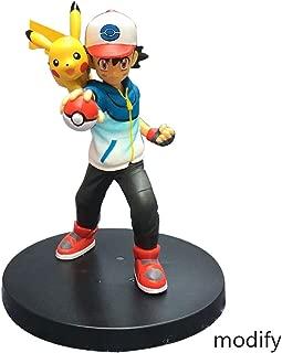 Duzhengzhou Pokémon:Ash Ketchum with Pikachu - 5.3 Inches PVC Figure