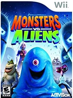 Monsters vs. Aliens By Activision Publishing - Nintendo Wii