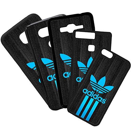 ELHURON Fundas De Moviles Carcasas De Moviles Funda Carcasa Compatible con Adidas Logotipo Azul Marca Moda