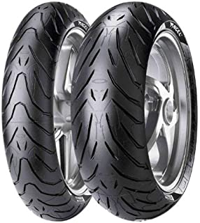 Pirelli Angel ST Tire - Front - 120/60ZR-17, Position: Front, Speed Rating: W, Tire Size: 120/60-17, Rim Size: 17, Load Rating: 55, Tire Type: Street, Tire Construction: Radial, Tire Application: Touring 1925100