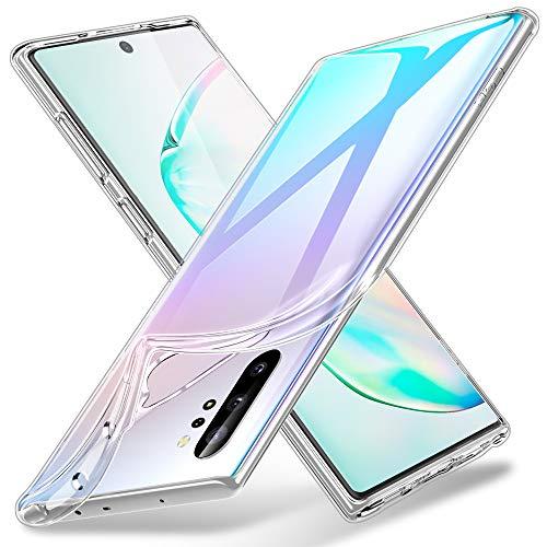 ESR Cover per Samsung Galaxy Note 10 Plus/Note10 Plus 5G, Custodia in TPU Morbido, Sottile e Trasparente Compatibile con Samsung Note10+, Custodia Morbida in Silicone Flessibile - Trasparente