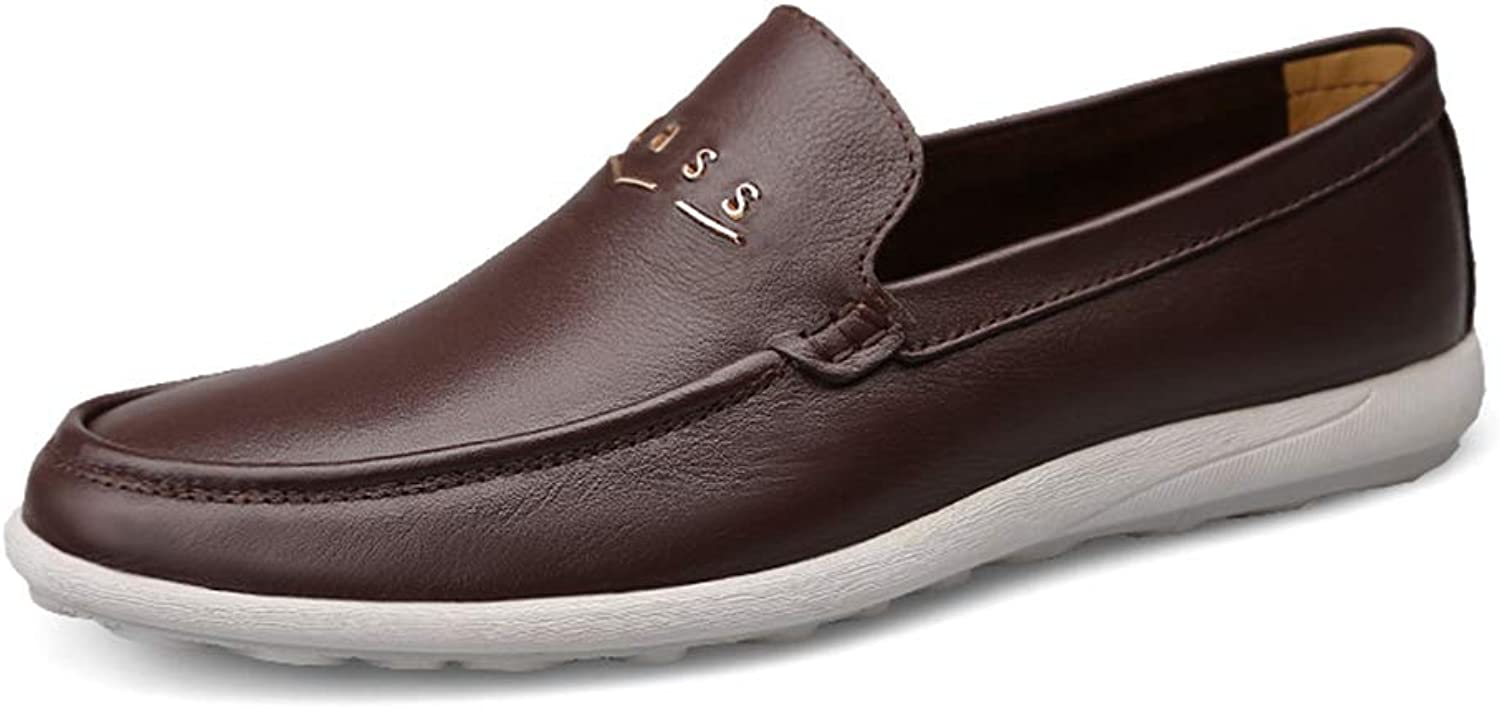 Men's shoes Casual Comfort Loafers & Slip-Ons Flat Loafers Comfort Lazy Driving shoes Spring Summer Fall Winter,B,41