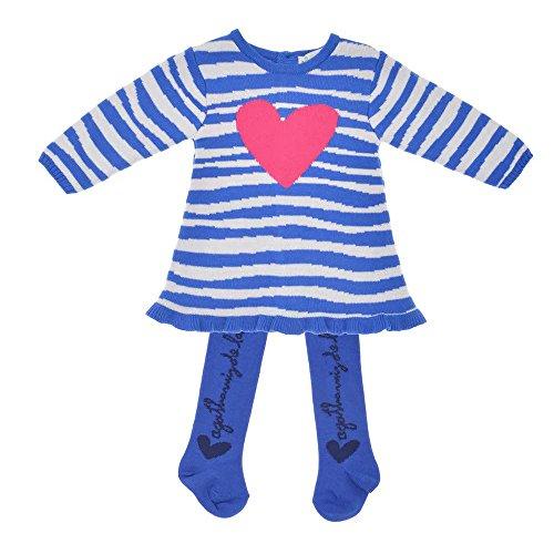 Agatha Ruiz de la Prada - Vestido Cebra, Bebe niña, Color: Blanco/Azul