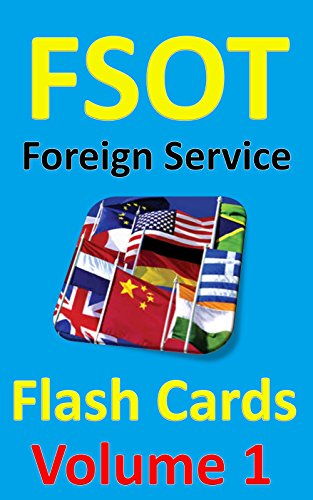 FSOT Flash Cards: Foreign Service Officer Test Prep, Volume 1 (English Edition)