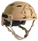 OneTigris PJ Mode Leichtbau Taktische Schnelle Helm für Airsoft Paintball (Khaki)