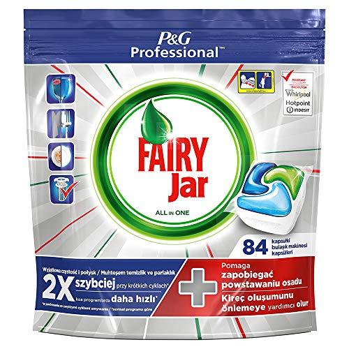 Fairy Plantinum - Pastillas para lavavajillas todo en uno, limón, 2 x...