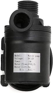 TOOGOO 800L/H 5m 12V Solar Brushless Motor Water Circulation Water Pump Submersibles Water Pumps