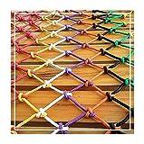 WANXMITE Red Balcon Negal Net Stail Stairs Anti- Fall Net, Festival Kindergarten Red Decorativo, Balcón Cerca de Facilidades Red, Escaleras Tejidos Cat Stiming Net Multi- Color Red Net
