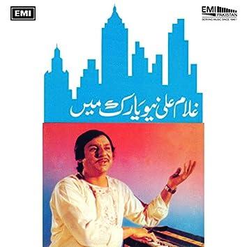Ghulam Ali In New York