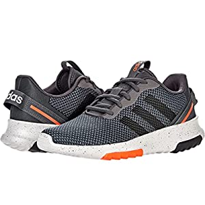 adidas Racer TR 2.0 (Little Kid/Big Kid) Grey/Black/Solar Red 4 Big Kid M
