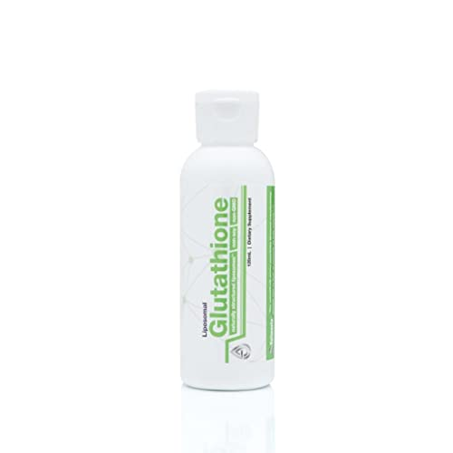 Valimenta Liposomal Glutathione | Made in USA | All Natural Ingredient Forms & Organic Manufacturing | Non-GMO & Non-Soy | 120ml | 4 oz. | 30 Servings
