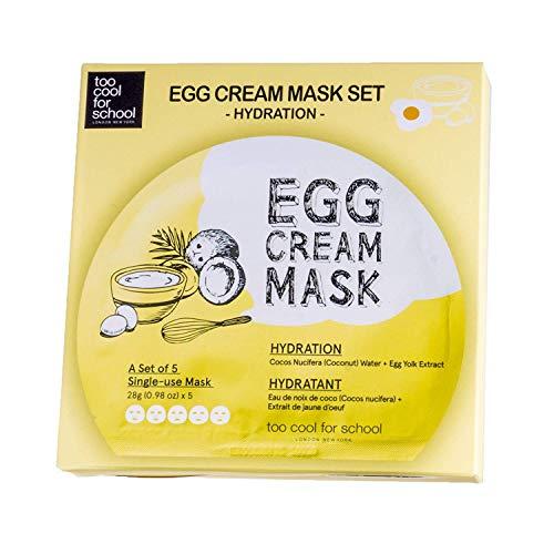 Too cool for school Egg Cream Mask (5ea)