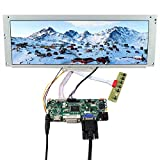 VSDISPLAY 14.9' 14.9 inch 1280X390 LCD Screen LTA149B780F with HDMI DVI VGA Audio LCD Controller Board M.NT68676, fit for Arcade Machines/DIY displays/Car Monitor/Digital Marquee/Gauge Cluster