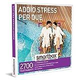 Smartbox - Addio Stress per Due - Cofanetto Regalo Coppia, 1 Esperienza Relax per 2 Persone, Idee Regalo Originale