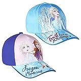 Cappellino con visiera Frozen 2 Blu e lilla...