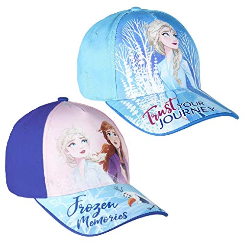 Cappellino con visiera Frozen 2 Blu e lilla