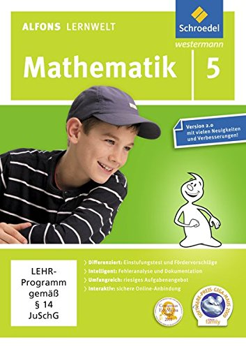 Alfons Lernwelt Mathematik 5 Einzelplatzlizenz