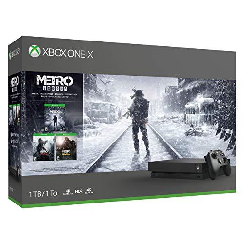Xbox One X 1TB Console - Metro Exodus Bundle