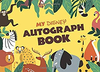 My Disney Autograph Book: The Perfect Autograph Book for Character Signatures at Disney - Jungle Animals - Boys or Girls