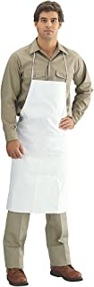 Tyvek TY273B Dupont  Apron White 28 x 36 Inches, Pack of 10 Each