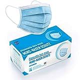 """DECADE MASKEN MUNDSCHUTZ - Test: """"SEHR GUT"""" - 50x Mundschutz Maske mit 98% BFE - geprüfte Mund Nasen Schutzmaske - Medizinischer Mundschutz einweg - Mund und Nasenschutz - Maske Schutzmaske"""