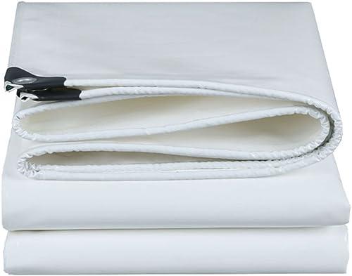 Doubleure Multifonctionnelle Imperméable De Tente De Bache Pour Le Camping Et Extérieur, Plusieurs Options De Taille (blanc) (taille   4MX7M)