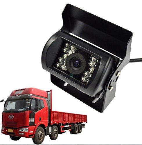 Camión Vista Trasera Cámara Respaldo Reversión CCD HD CCTV Cámara para Camión Recoger Autobús Vehículo Camioneta Camper Coche - Pesado Deber, Impermeable, Nocturna Visión DC 12V - 24V