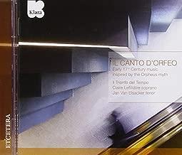 Il canto d'Orfeo by Jan Van Elsacker (2010-03-09)