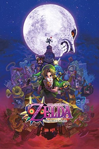 Pyramid America The Legend of Zelda Majoras Mask Nintendo Fantasy Video Game Poster 24x36 inch