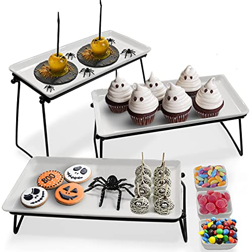 3 Tiered Serving Tray Stand - 3 ...