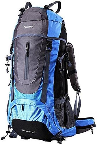 Bazaar Camping randonnée 60 + 5l sac à dos sac à dos en nylon pour l'alpinisme Voyage d'escalade