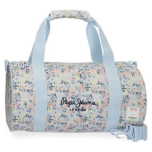 Bolsa de Viaje Pepe Jeans Malila, Azul, 45 x 22 x 22 cm