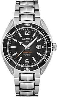 Roamer Searock Pro Orologio da Polso, Cronografo, Uomo, Acciaio Inox, Argento