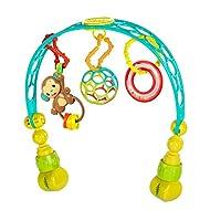 Bright Starts OBall Flex 'n Go Activity Arch Take-Along Toy, Ages Newborn +