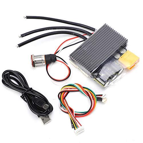 Unidad única V6, FSESC6.6 ESC Controlador de patineta eléctrico dual ESC Componentes...