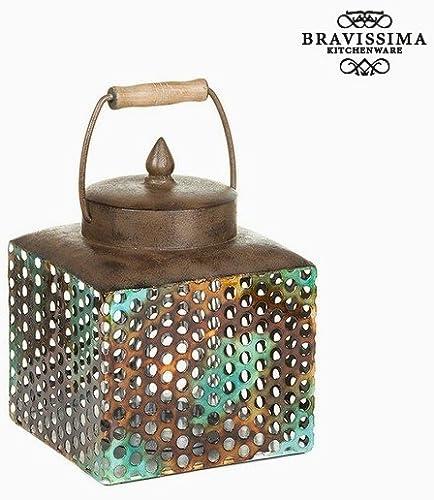 Caja con Tapa Hierro (20 x 19 x 25 cm) by Homania