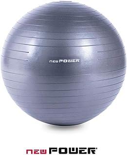 NEWPOWER - Pelota de Ejercicio Fitball 55-65-75cm, Anti-