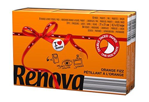 Renova zakdoeken Red Label Orange Aroma bruistabletten - 6 pakjes - [Pack 20]