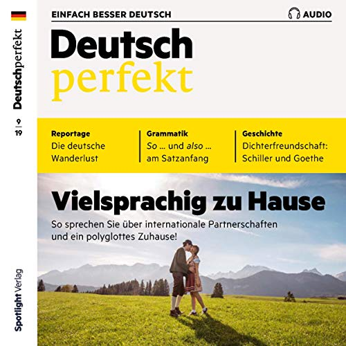 Couverture de Deutsch perfekt Audio. 9/2019