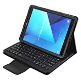 SCIMIN Samsung Galaxy Tab S3 9.7 Folio Funda, Galaxy Tab S3 9.7 Funda de teclado funda protectora inteligente de cuero con teclado Bluetooth extraíble para Samsung Galaxy Tab S3 9.7 [T820/T825]