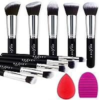 BEAKEY Makeup Brush Set Premium Synthetic Kabuki Foundation Face Powder Blush Eyeshadow Brushes Makeup Brush Kit with...