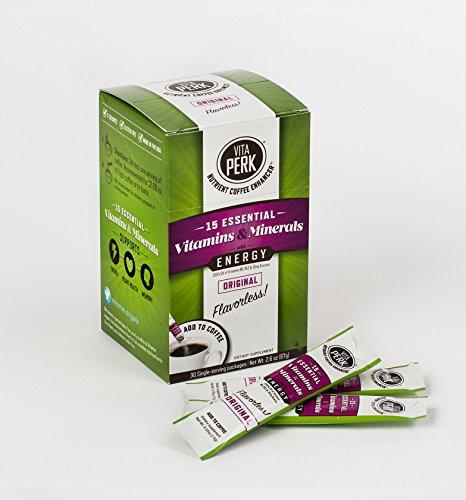 VitaPerk Energy, Original (Flavorless), 30 pack,...